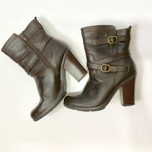 Style & Co Shoes - Style & Co dark brown booties